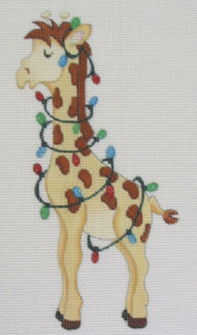 Giraffe with Lights