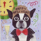 Bob's New Year - BeStitched Needlepoint