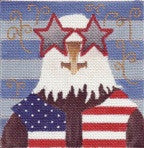 Artie's July 4th - BeStitched Needlepoint