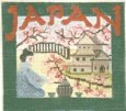 Japan - BeStitched Needlepoint
