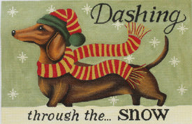 Dachshund Winter