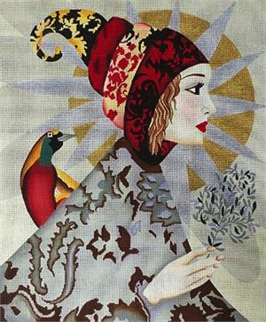 Elegant Woman - BeStitched Needlepoint