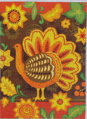 Folk Art Turkey EV-02