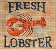Fresh Lobster - BeStitched Needlepoint