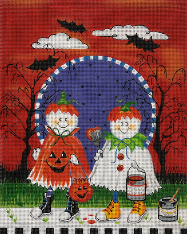 Ghost Painters - BeStitched Needlepoint