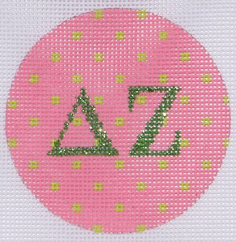 Delta Zeta - BeStitched Needlepoint