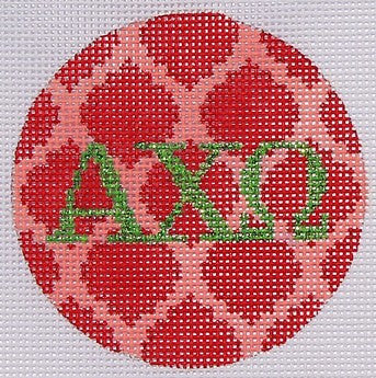 Alpha Chi Omega - BeStitched Needlepoint
