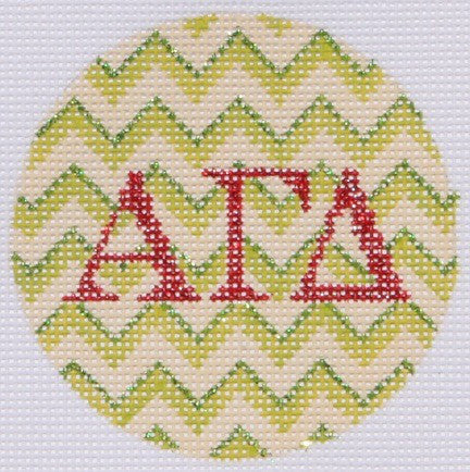 Alpha Gamma Delta - BeStitched Needlepoint