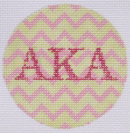 Alpha Kappa Alpha - BeStitched Needlepoint
