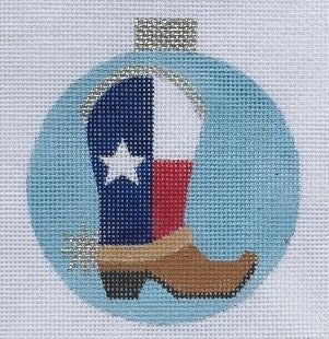 Texas Boot Ornament