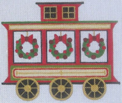 Caboose - BeStitched Needlepoint
