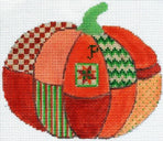 Quilted Pumpkin - includes stitch guide