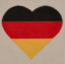 German Flag Heart