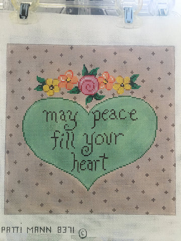 May peace fill your heart