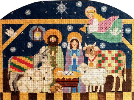 Nativity Creche Scene