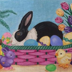 Easter Rabbit Basket