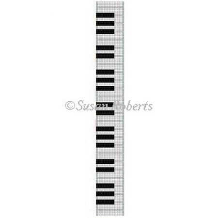 Piano Keys, key fob