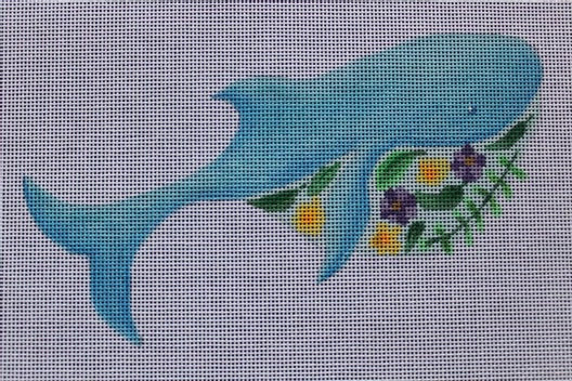 Floral Whale