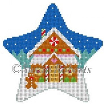 Star, Gingerbread House