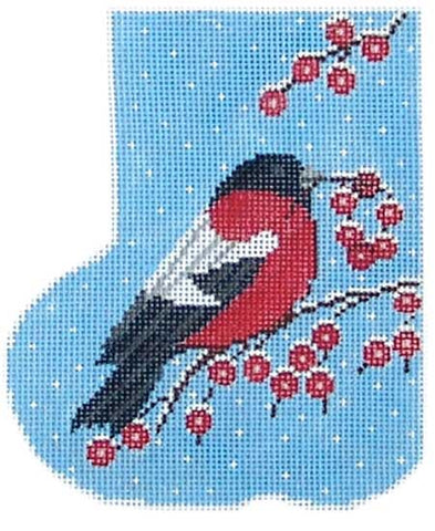 Red Bird Christmas Mini-Sock