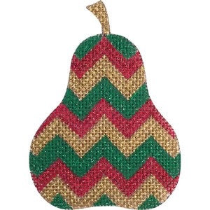 Pear Shaped with Chevron