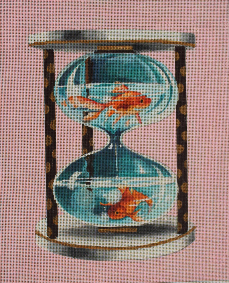 Goldfish in water timer