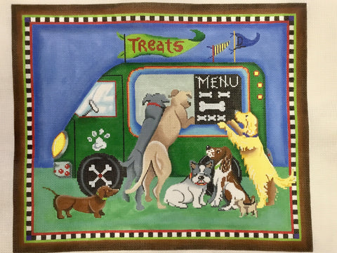 Doggie Treat Wagon 11433