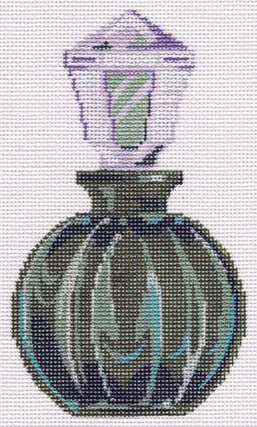 Round Green Perfume Bottle LL150S