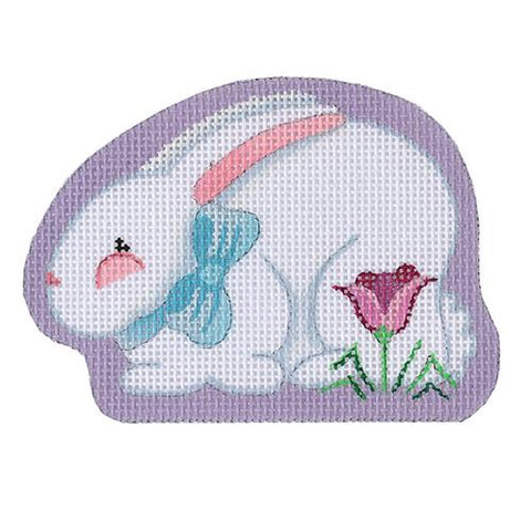 Bunny with Blue Bow BB 6168