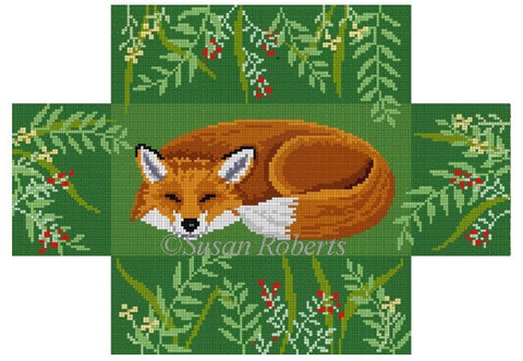 Sleeping Fox, brick cover