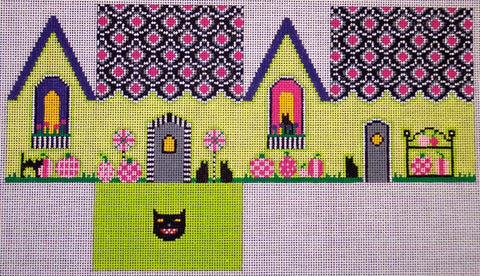 Pink Pumpkin Witch Cottage - Small HW136