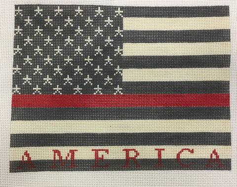 American Flag First Responder Fire 1776B/13