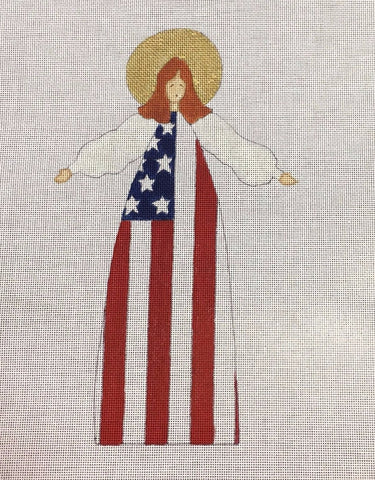 The American Flag Angel