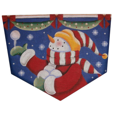 Snowballs Stocking Cuff 1471c