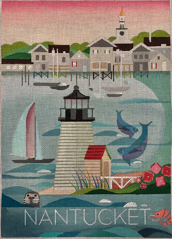 Nantucket -Travel Poster