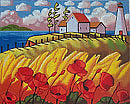 Lighthouses and Poppies