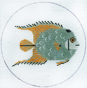 Fish - Grey and Yellow HC-O350