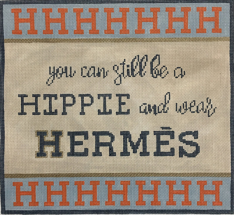 You Can Be A Hippie and Wear Hermes
