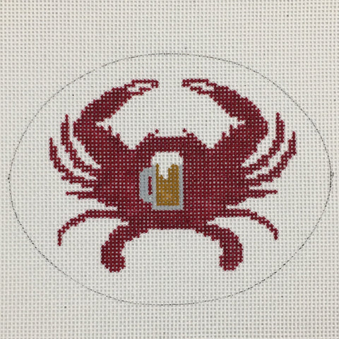 Red Crab with Beer Mug