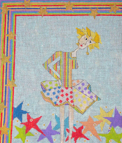 Penny Macleod:PM1057 Fallen Star 9 1/2 x 11