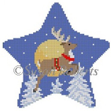 Star Flying Reindeer