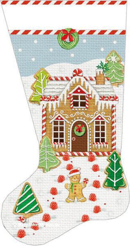 Gingerbread House Stocking