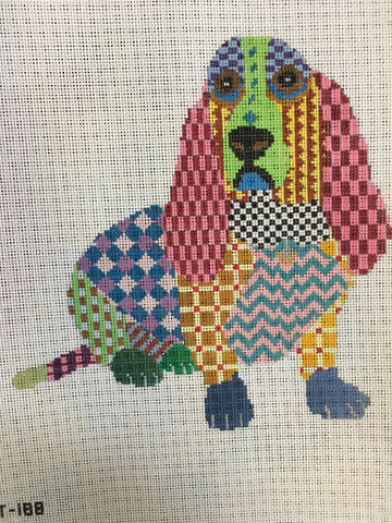 Colorful Basset
