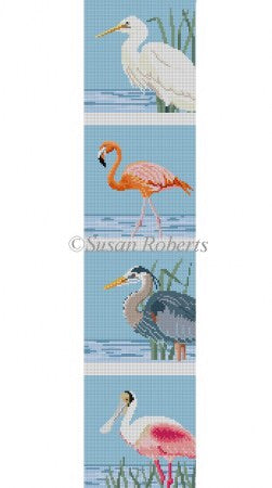 Wading Birds Coaster Strip