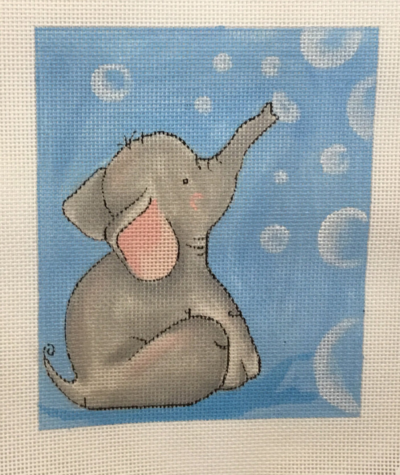 Elephant blowing Bubbles