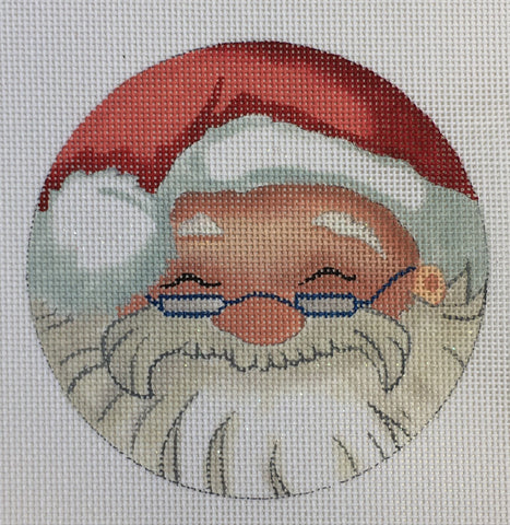 Santa with Glasses