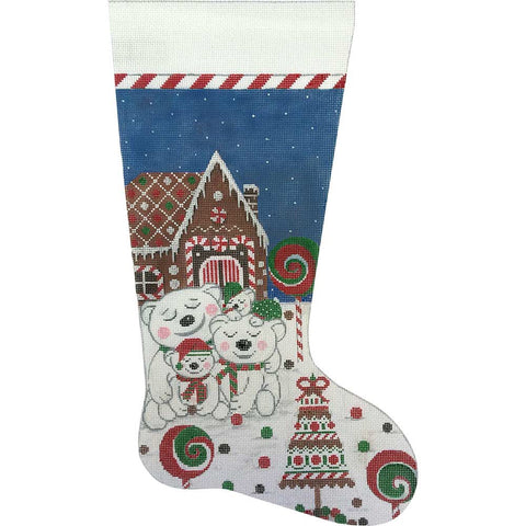Polar Bears Stocking