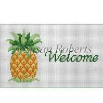Welcome Pineapple, sign