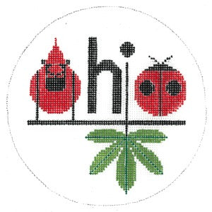 Ohio Ornament HC-O382