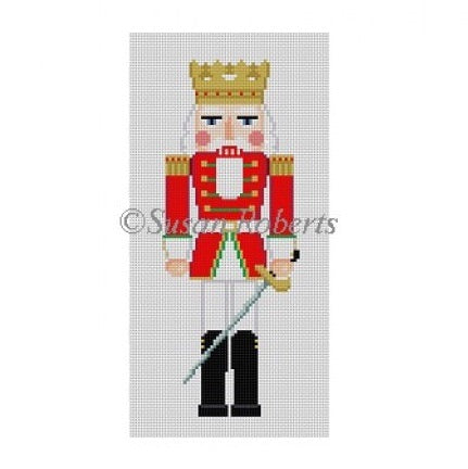 Red King w / Sword nutcracker